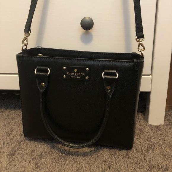 kate spade Handbags - Black Kate Spade handbag